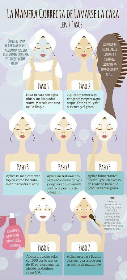 Infografías sobre belleza y salud | Belleza