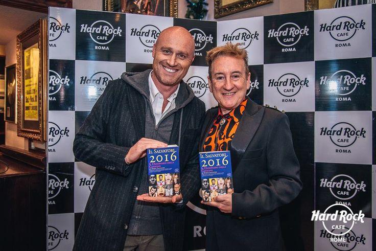 #RudyZerbi & #DarioSalvatori a #HardRockCafe di #Roma