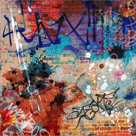 Graffiti Background Wall Mural $79.00 (http://www.majesticwallart.com/wall-murals/Urban-Wall-Mural/Graffiti-Background-Wall-Mural-Decal-Sticker-Art-Graphics-Wallpaper-Decor.htm)