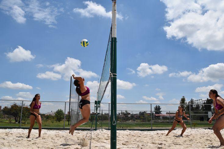 Cancha voleibol playero