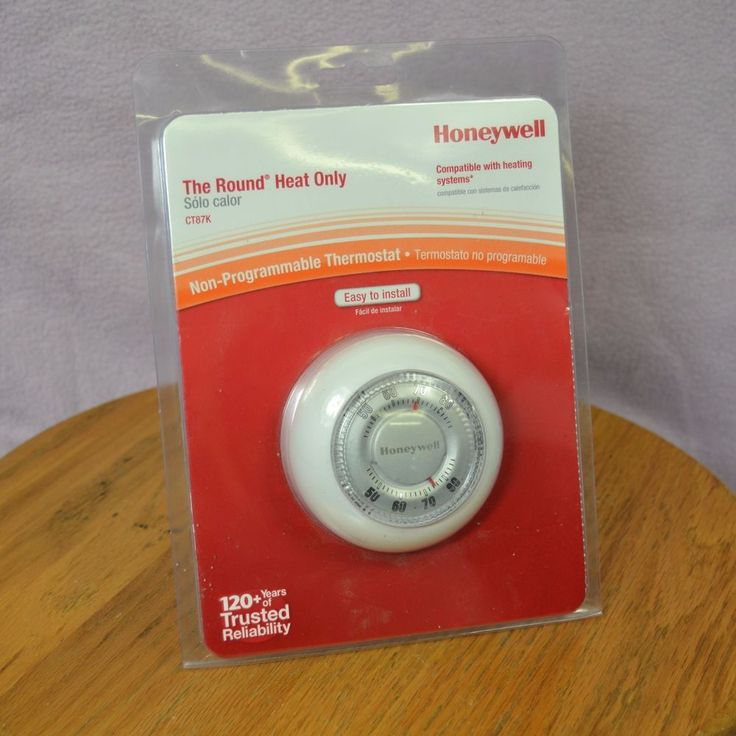 Honeywell CT87K The Round Heat Only Non Programmable