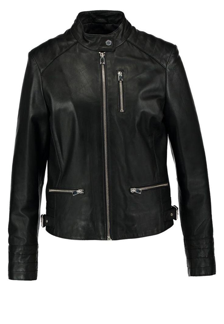 Oakwood Lederjacke noir Bekleidung bei Zalando.de | Material Oberstoff: 100% Leder | Bekleidung jetzt versandkostenfrei bei Zalando.de bestellen!