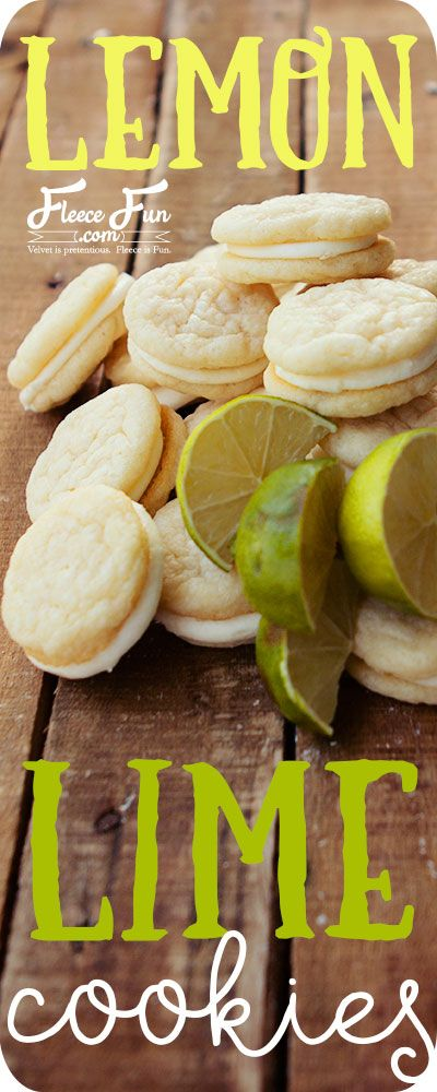 Yum This lemon lime cookie recipe looks like the perfect dessert. I love this idea for my party.