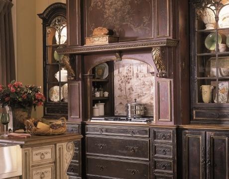 traditional island style kitchen cabinets robert williams vice president of design habersham. beautiful ideas. Home Design Ideas