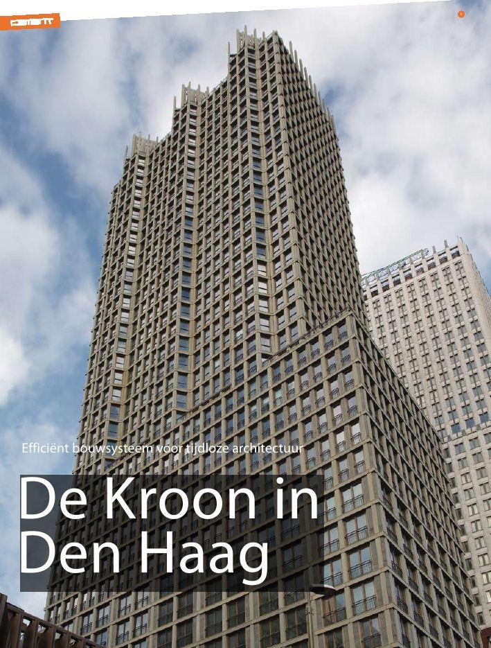 De Kroon in Den Haag    Efficiënt bouwsysteem voor tijdloze architectuur