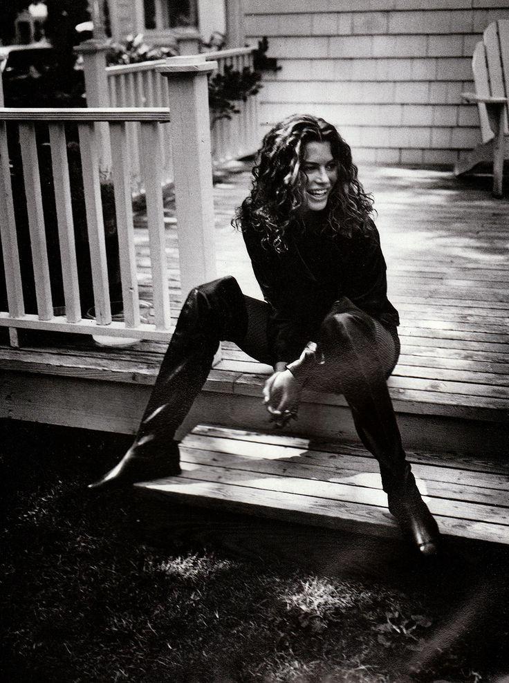 Carre Otis by Pamela Hanson - Vogue Italy Oct.1991