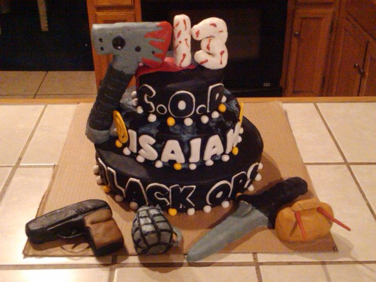 black ops 2 zombies big cake - Google Search