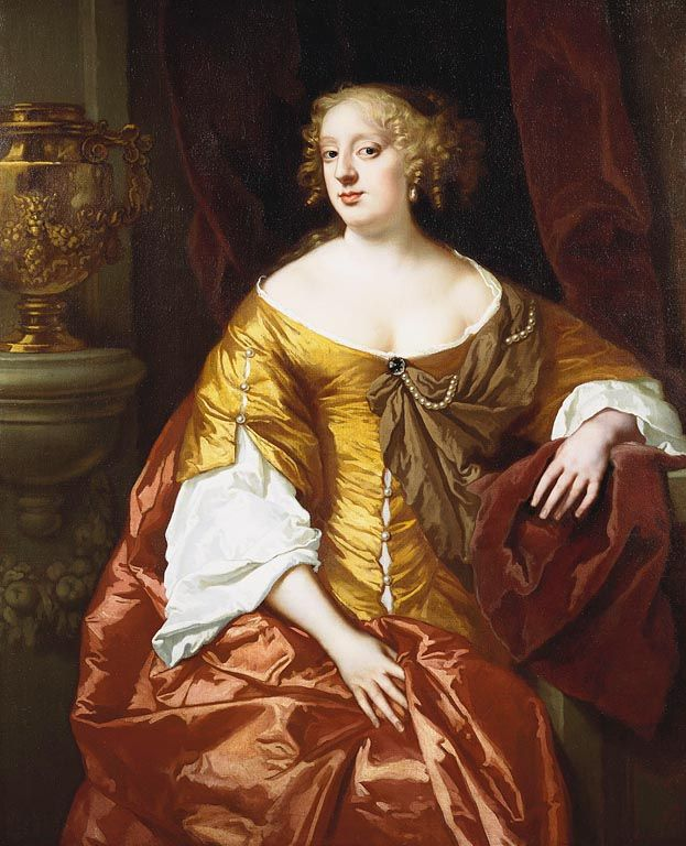 Anne Digby, Countess of Sunderland (ca1646-1715) ~ one of the Windsor Beauties