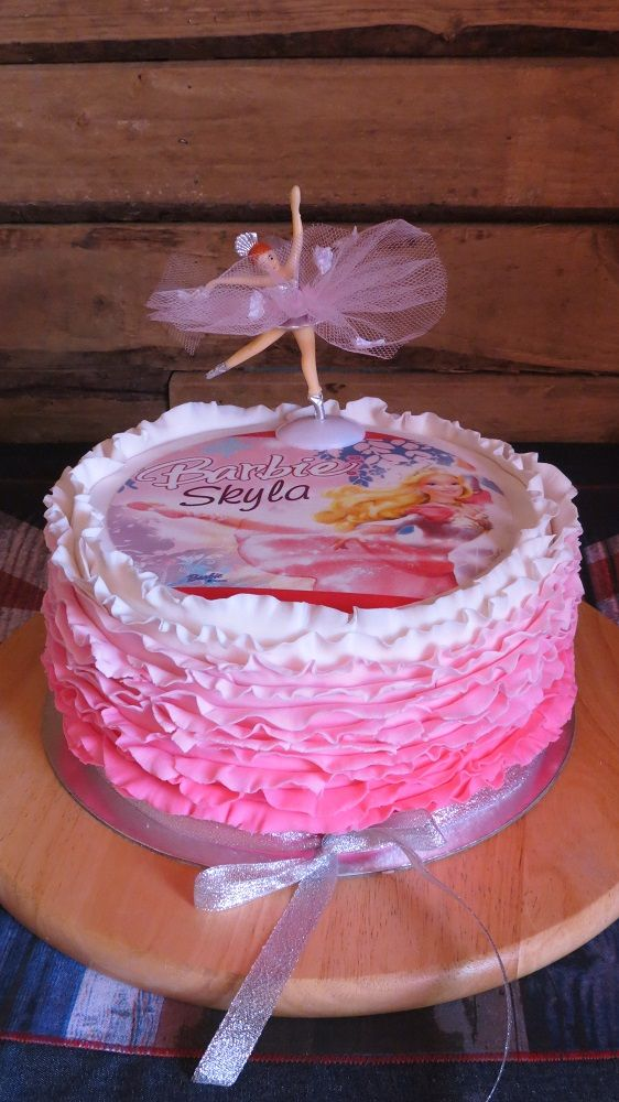 Ballerina Barbie Frills