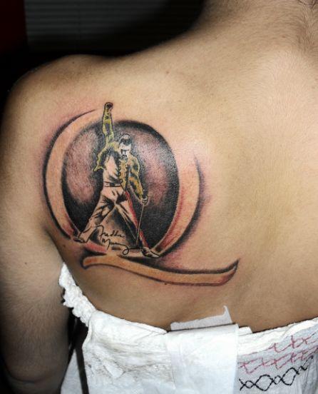 One Of The BEST Freddie Mercury Tattoos I've Ever Seen
