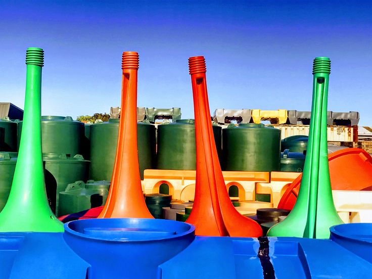 Plastic Fantastic I took this photo this morning. It was at a plastic extrusionfactory I thought the colours were great  #stusroadtrips #photo #photooftheday #sun #green #picture #orange #red #tanks #barrers #plastic #bright #colour #cones#beautiful#picoftheday#instagood#amazing#bestoftheday#sky#cool#instagram #iphoneonly