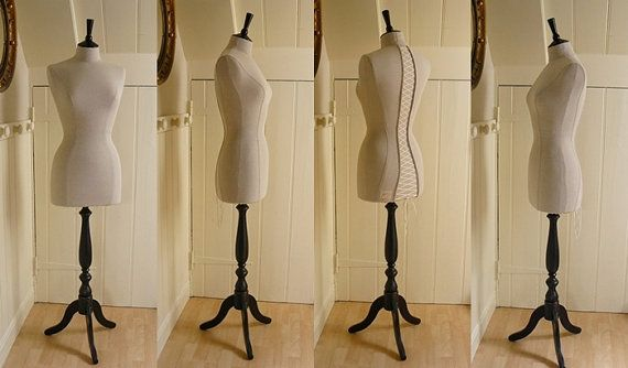 Corset Laced Mannequin Dressform Display by CorsetLacedMannequin, £190.00