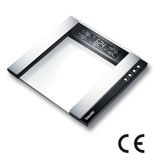 Impédancemètre mesure masse graisseuse Vous connaitrez instantanément votre poids, le taux de graisse corporelle, le taux de masse hydrique, la masse musculaire et la consommation de calories.