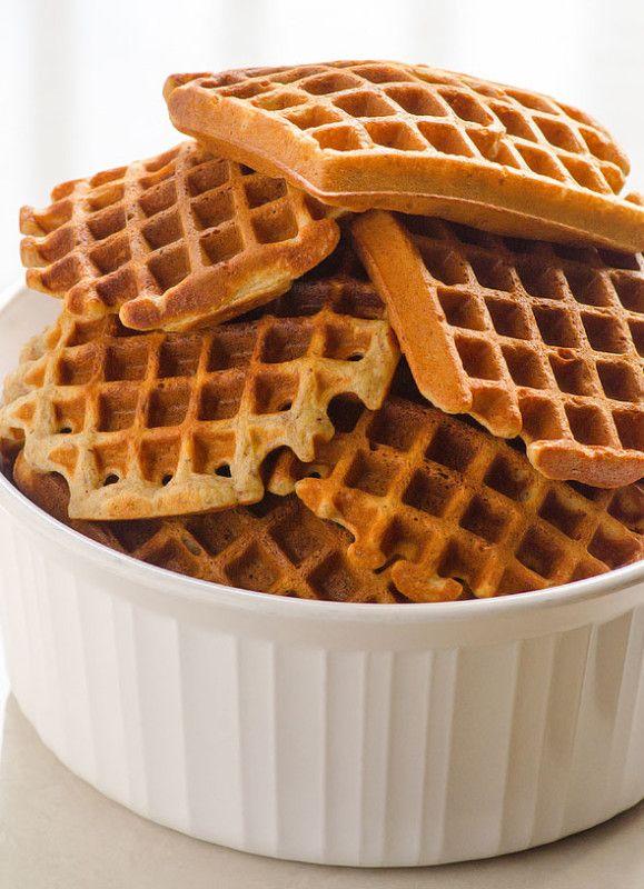 10 рецептов вкусных и полезных домашних вафель. Вафли из цельнозерновой муки.
