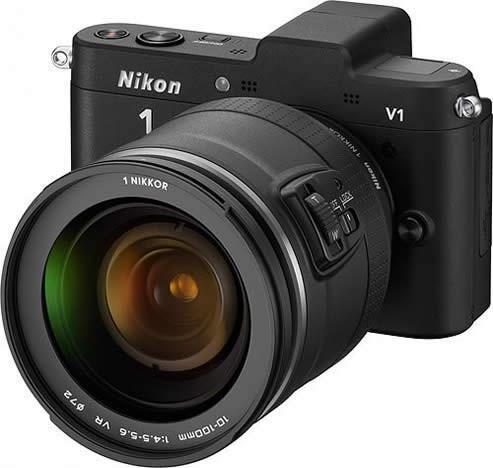 Nikon 1 V1 and J1 Mirrorless Cameras