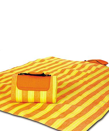 Take A Look At This Citrus Stripe Mega Mat Picnic Blanket By Plus On
