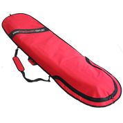 RED Longboard Bag - Made of 600 Denier Nylon these board covers are a quality choice to protect your surfboard.