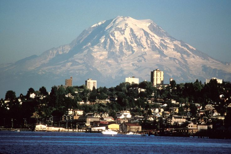 A goal of mine is to climb to the top of Mount Rainier pictured here and do it will a group of friends.