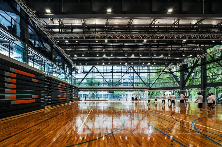 Image 1 of 52 from gallery of São Luís Sports & Arts Gymnasium / Urdi Arquitetura. Photograph by Nelson Kon