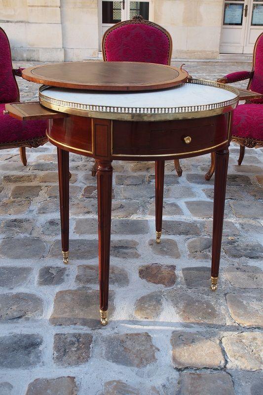 Table bouillotte d'époque Louis XVI