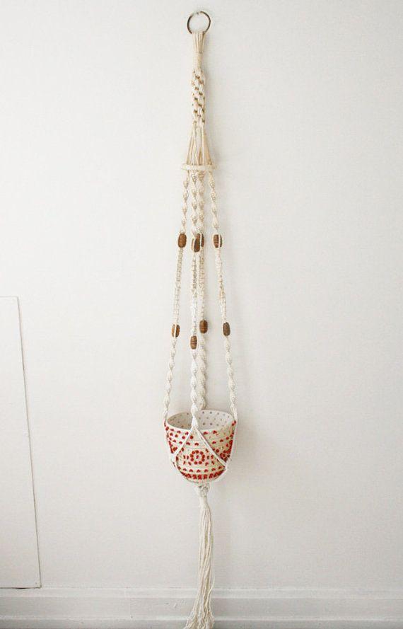 Macrame Hanging BasketMacrame Hanging Basket