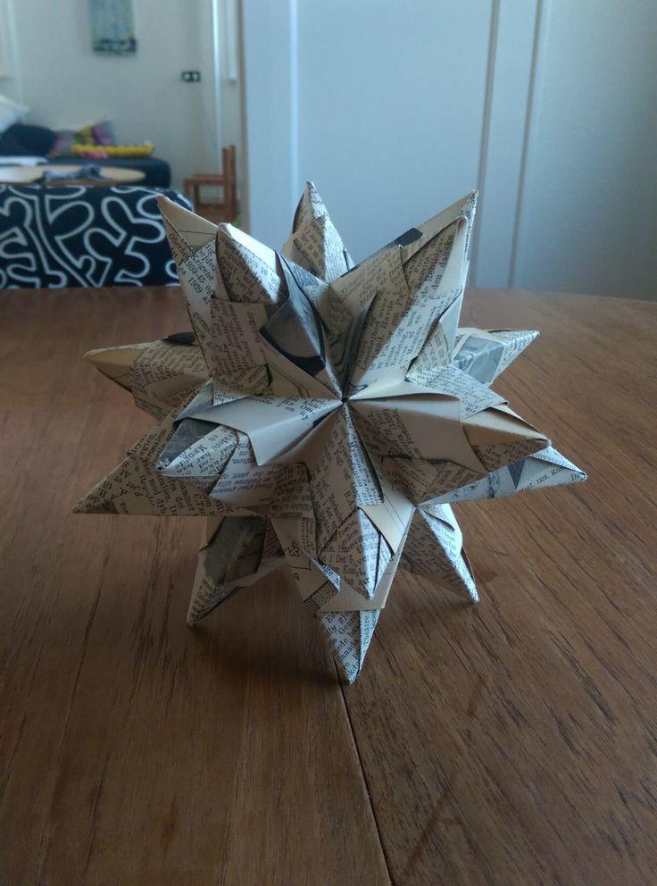 Så er det vist på tide at få kickstartet den anden side af min blog; nemlig kreative projekter med papir! Bascetta stjernen er et eksempel på modulær origami, som er kendetegnet ved at der skal fol…