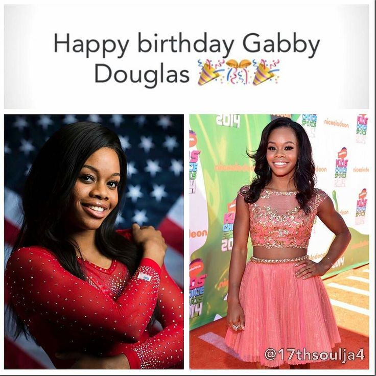 "@Regrann from @17thsoulja4 -  Gabrielle Christina Victoria ""Gabby"" Douglas (born December 31 1995)is an American artistic gymnast. She was a member of the United States women's national gymnastics team dubbed the Fierce Five by the media at the 2012 Summer Olympics where she won gold medals in the individual all-around and team competitions. She was also a member of the gold-winning American team at the 2011 and the 2015 World Championshipsand the all-around silver medalist at the 2015 World…"