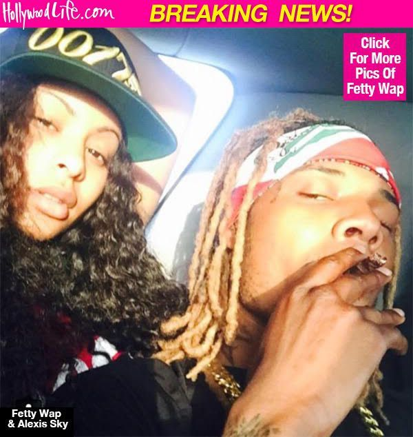 Fetty Wap Proposes To Longtime GF & Instagram Model Alexis Sky — Report