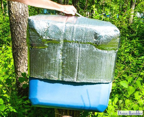 Extend the life of the ice while outdoors with this cooler ...