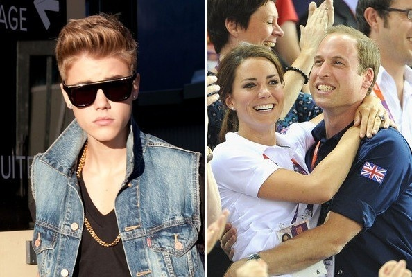 Justin Bieber probably didn't mean to throw shade at Prince William when he criticized the guy's receeding hairline — he's just a believer in hair for everyone. And if there's anyone who can buy himself a fancy mop, it's a royal! Also in music news, Madonna responded to Catholic protesters in Poland with footage of the Warsaw Uprising, Rihanna's into scripture, Chris Brown's picked out a new single, and Lamb of God frontman Randy Blythe has been released from prison.