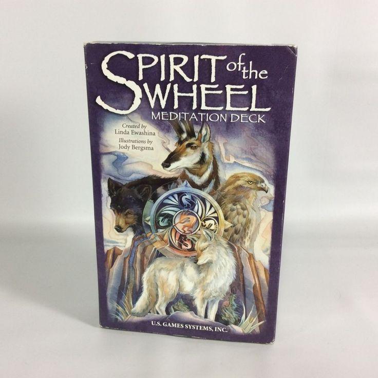 Spirit of The Wheel Meditation Deck Poster Booklet Linda Ewashina Jody Bergsma