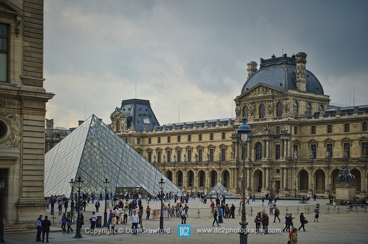 The Lourve. Paris France