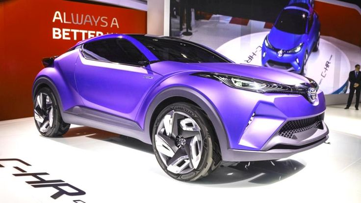 2016 Cars, 2016 Toyota C-HR, 2016 Toyota C-HR Concept, 2016 Toyota C-HR Review