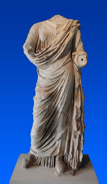 Statue of Persephone _ Archaeological Museum of Eleusis, Attica