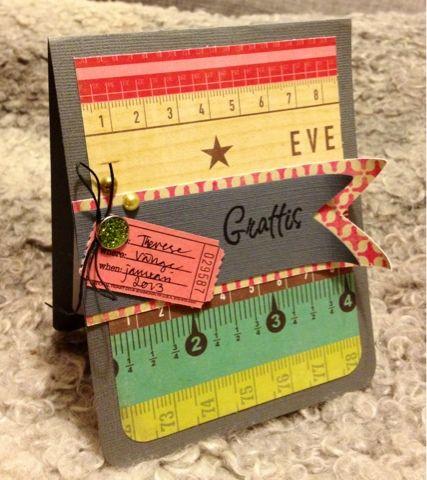 Miss Springs pyssel och knåp: Crate paper