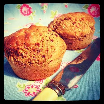 Healthy Date Muffins 12WBT - Snack Food Thermomix recipe - but you could easily do it in a food processor. I have no problem eating 3 m...
