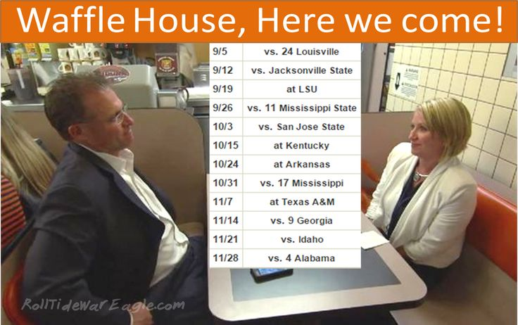 Waffle House Bound!  @CoachGusMalzahn #Auburn