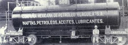 El aguila S.A. - Oil rail tank - Expropiación del petróleo en México - Wikipedia, la enciclopedia libre