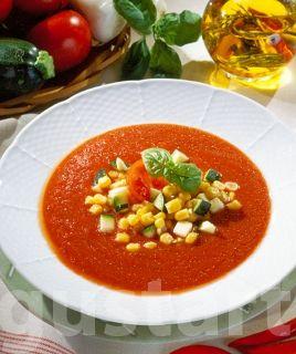 Lajos Mari konyhája - Kukoricás paradicsomleves