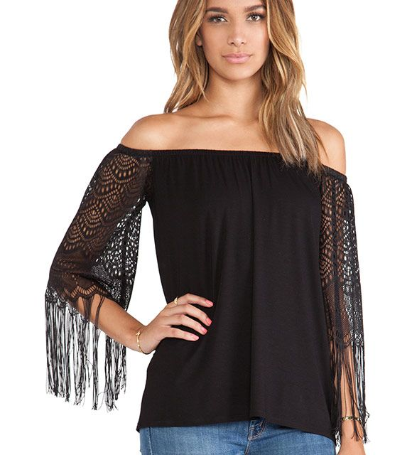Farrah Off The Shoulder Top is now part of the #rockconcert collection on Haute Day. Check out http://hauteday.com/