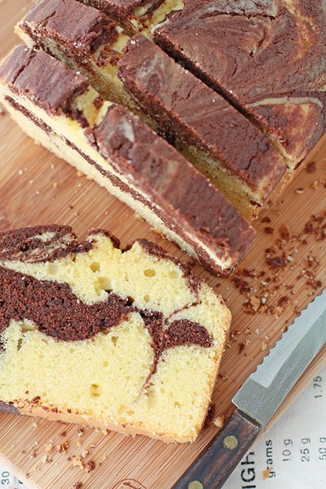 Kitchen Heals Soul: Anna Olson's marble pound cake