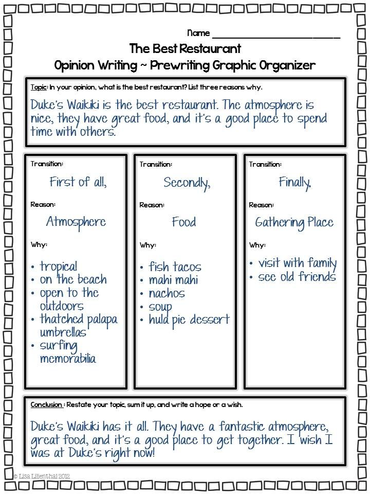 Persuasive Essay Ideas For 3rd Grade