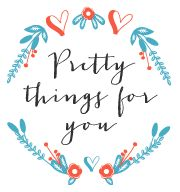 Perfect for all your pretty party needs, visit Pretty Things for You and check out all their pretty things!