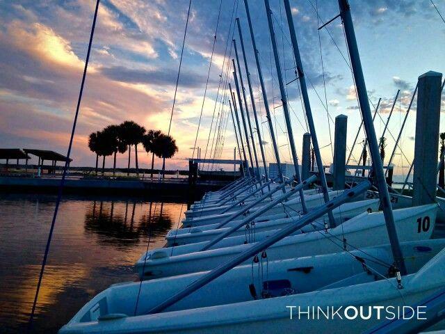 Eckerd College sailing center