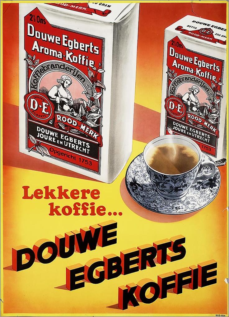 Lekkere koffie...Douwe Egberts koffie