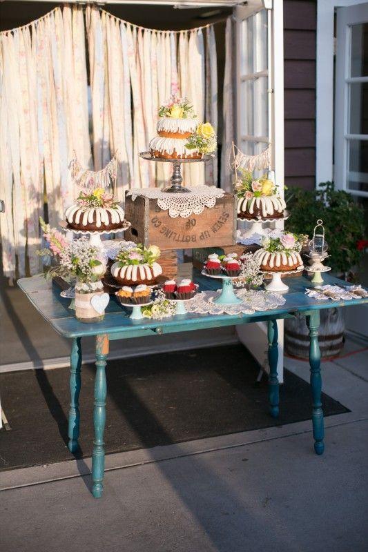 Best ideas about rustic dessert tables on pinterest