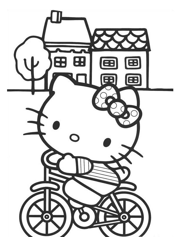 44 best Hello Kitty images on Pinterest | Coloring pages, Hello ...