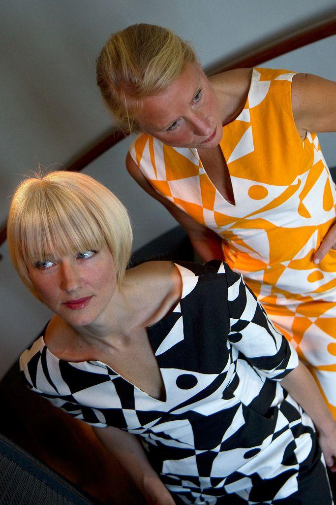Regatta pattern - Dress Sophia designed by Maria Lovisa Dahlberg FREEMOVER 2013