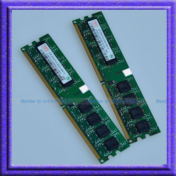 Hynix 2GB 2x1GB PC2-4200 DDR2 533 533MHZ 240PIN RAM DIMM NON-ECC Desktop MEMORY 1G RAM Free shipping