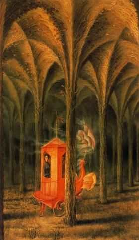 Plant cathedral - Remedios Varo